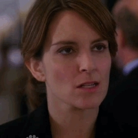 Tina Fey rolls her eyes in frustration GIFs