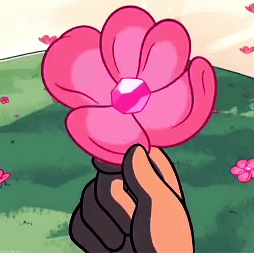 anime, beautiful, birthday, cartoon, flower, flowers, for, happy, offer, pink, windy, you, Anime flowers GIFs