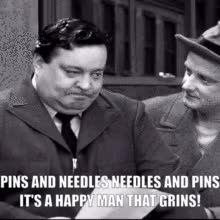 Watch and share Needles And Pins GIFs and Ralph Kramden GIFs by Bob on Gfycat