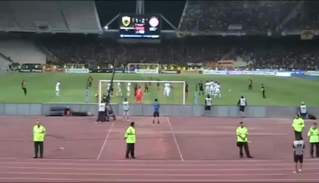 Χριστοδουλόπουλος ΓΚΟΛΑΡΑ!!!!!!!! ΑΕΚ - ΟΣΦΠ 3-2