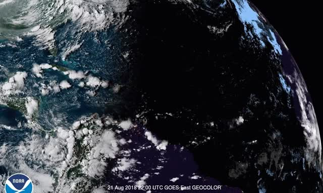 Watch and share GOES16-TAW-GEOCOLOR-900x540 GIFs on Gfycat