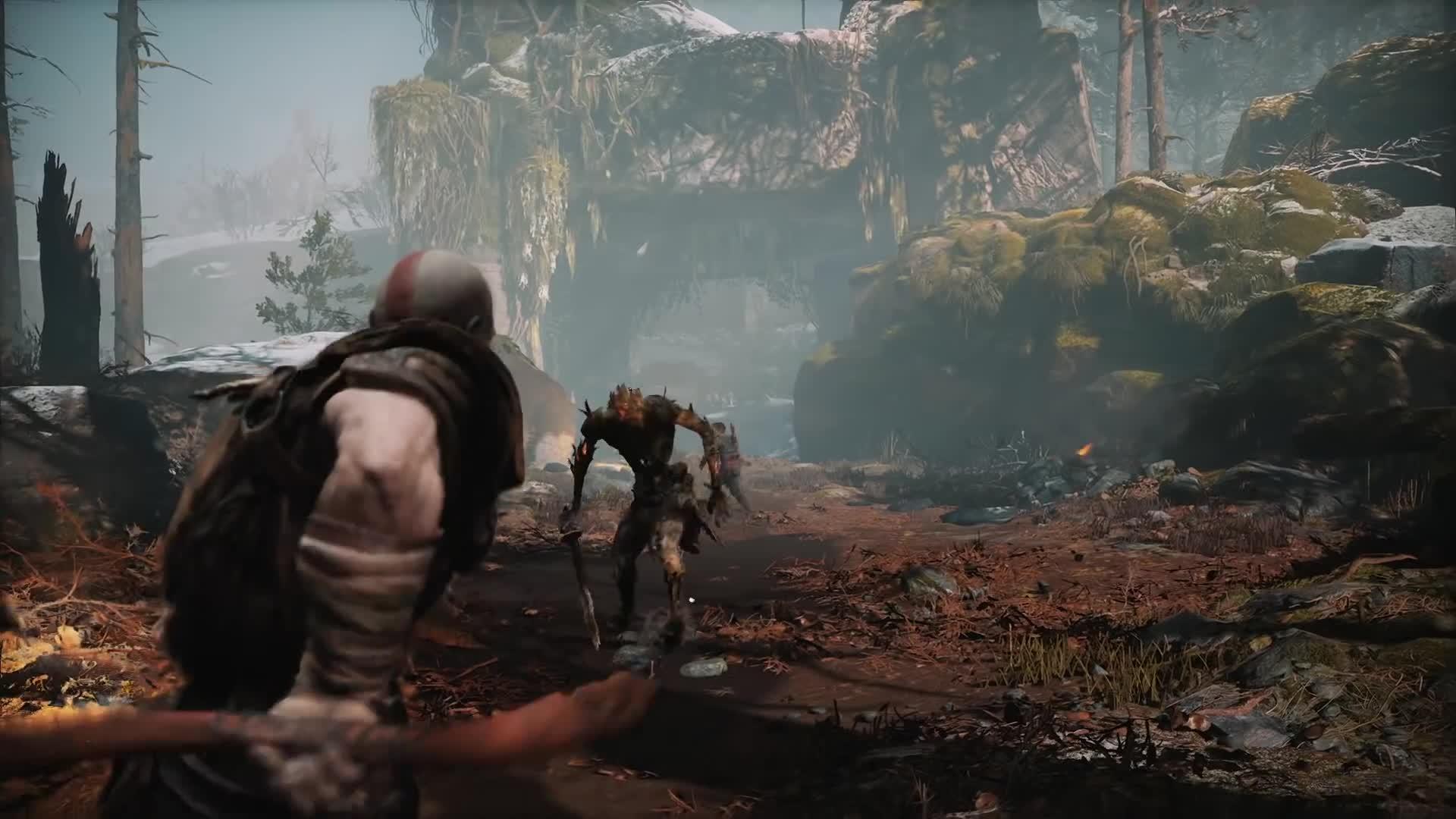 Atreus, Cory Barlog, E3, E3 2017, Gameplay, God of War, Incredible, Kratos, Mythology, Norse, player.one, playerdotone, God of War – Story Trailer | PS4 GIFs