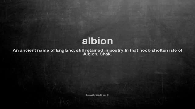 Watch What does albion mean GIF on Gfycat. Discover more dictionary, english, pronouse, vocabulary, wikipedia, words GIFs on Gfycat