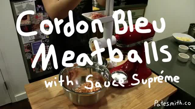 Watch Cordon Bleu Meatballs with Sauce Supreme GIF on Gfycat. Discover more food, foodporn GIFs on Gfycat