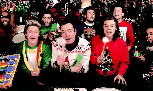 Watch Jimmy Fallon One Direction Santa Claus is Coming to Town December GIF on Gfycat. Discover more 22doli, liam, liam payne, liam's charity drive GIFs on Gfycat