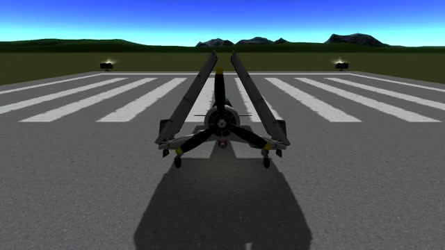 Watch and share This Is My New Favorite Plane. Inspired By The F4U Corsair, It's A Naval Fighter/dive Bomber/ Torpedo Bomber With Working Folding Wings. (reddit) GIFs by skippythemoonrock on Gfycat