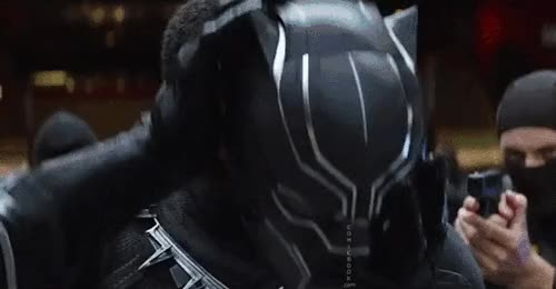 Watch this black panther GIF on Gfycat. Discover more black panther, captain america: civil war, chadwick boseman, king t'challa, marvel, t'challa, wakanda, wakanda forever GIFs on Gfycat