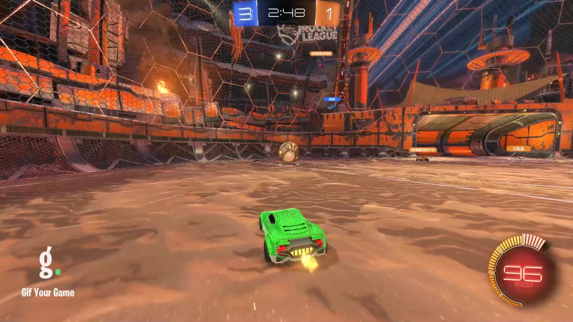 Gif Your Game, GifYourGame, Goal, Rocket League, RocketLeague, SI Trickz, Goal 5: SI Trickz GIFs