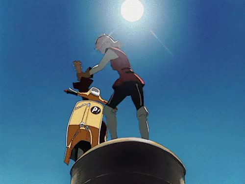 Watch and share Flcl GIFs on Gfycat