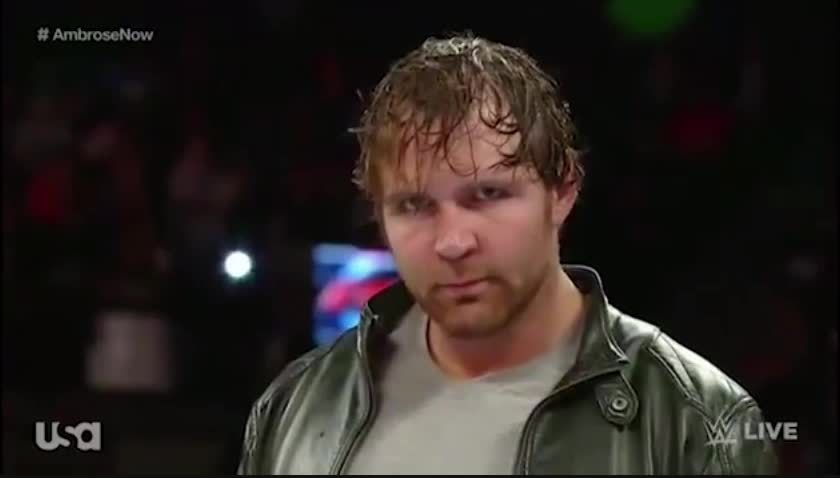 funny, squaredcircle, Dean Ambrose GIFs