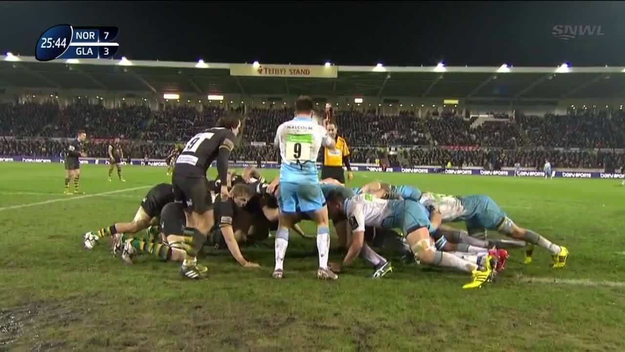 Northampton Saints, Northampton Saints vs Glasgow Warriors, rugbyunion, just a squeeze r/rugbyunion GIFs