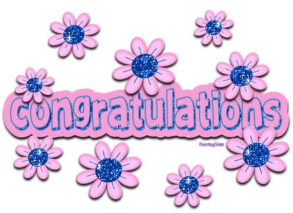 Watch and share Congratulations Clipart GIFs on Gfycat