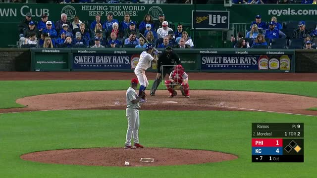 Watch and share Kansas City Royals GIFs and Baseball GIFs by natewattpl on Gfycat