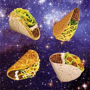 Watch and share Zoom 6galaxy, Taco Bell, Tacos, Space, GIFs on Gfycat