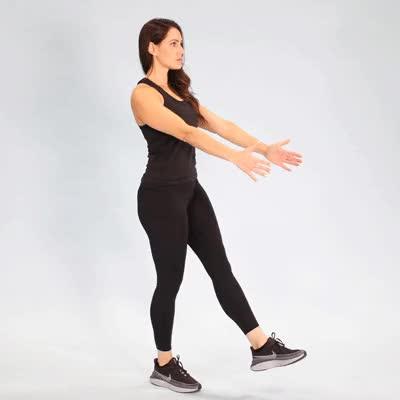 Watch and share 400x400 Single Leg Squat Single Leg Squat GIFs on Gfycat