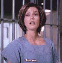Watch and share Teri Hatcher GIFs and I Love You GIFs on Gfycat