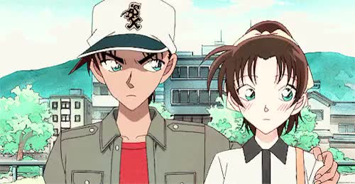 Watch Heiji & Kazuha for tzukuyo GIF on Gfycat. Discover more *me trying to color a little bit better*, by me, conangif, conangraphics, detective conan, heiji hattori, kazuha toyama, movie 17, request GIFs on Gfycat