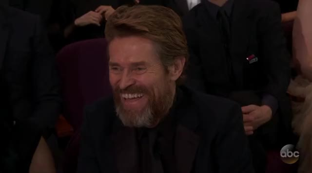 Watch and share Willem Dafoe GIFs and Oscars 2018 GIFs by Reactions on Gfycat