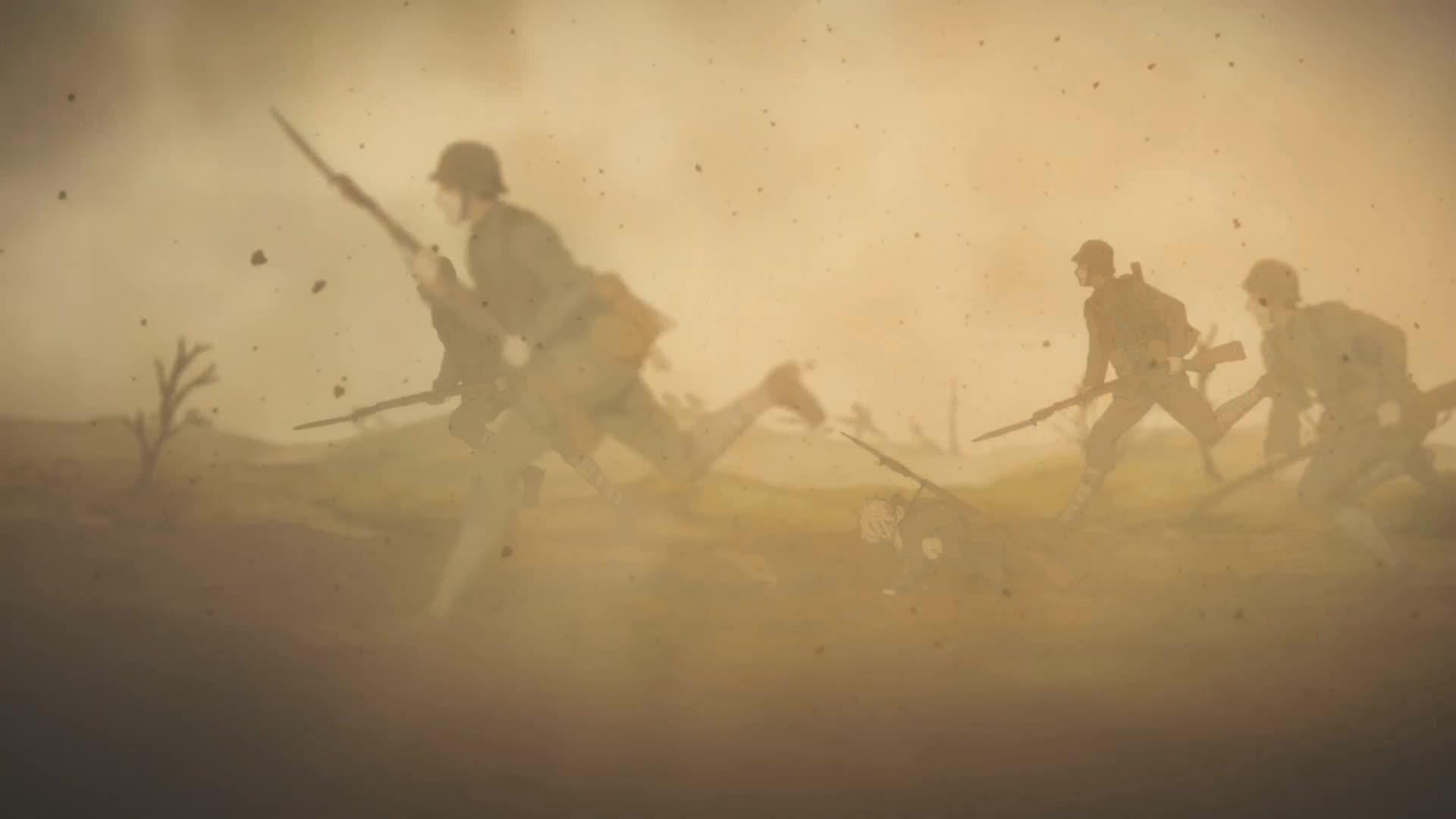 violet evergarden, Battlefield GIFs