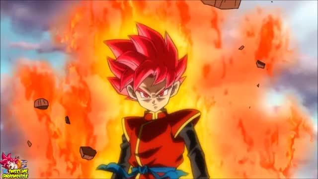 Dragon Ball Heroes: God Class Transformations! Super Saiyan God Beat vs Demigra! [GDM7 Trailer]