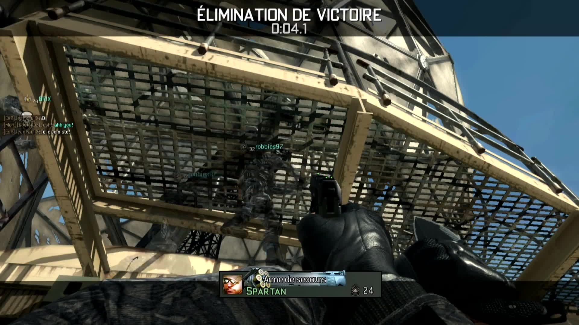 askreddit, video game (industry), [MW3] Killcam finale couteau GIFs
