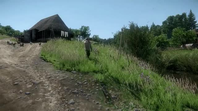 Watch and share Kingdom Come: Deliverance - Fisherman GIFs on Gfycat