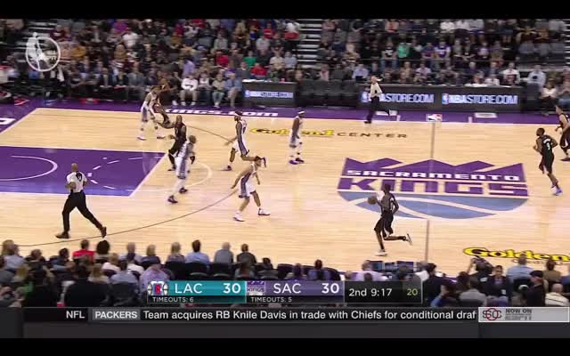 Watch Marreese Speights triggers some great ball movement GIF on Gfycat. Discover more laclippers, nba GIFs on Gfycat