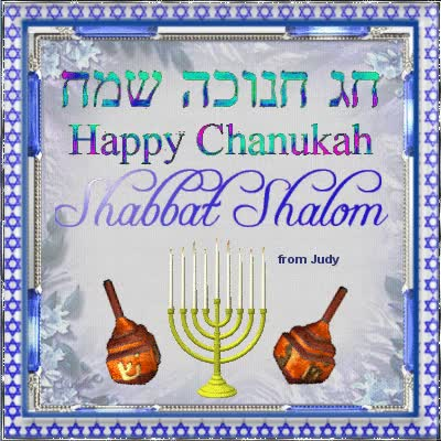 Watch and share Happy Chanukah Shabbat Shalom Glitter Picture GIFs on Gfycat
