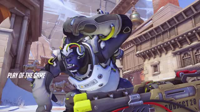 Watch and share Overwatch GIFs and Winston GIFs by AonRivers on Gfycat