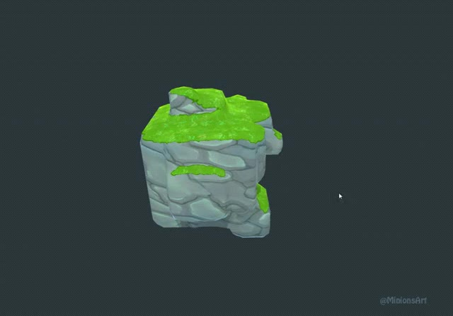 Watch and share Triplanar-Shader-by-@MinionsArt GIFs on Gfycat