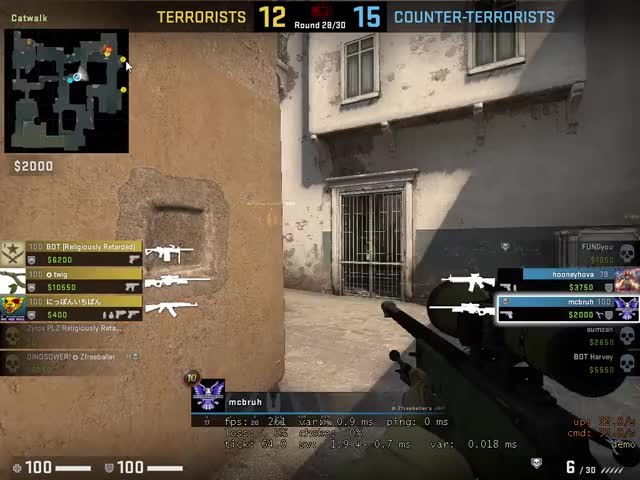 Watch and share Counter-Strike Global Offensive 2019-07-05 18-55-17 GIFs on Gfycat