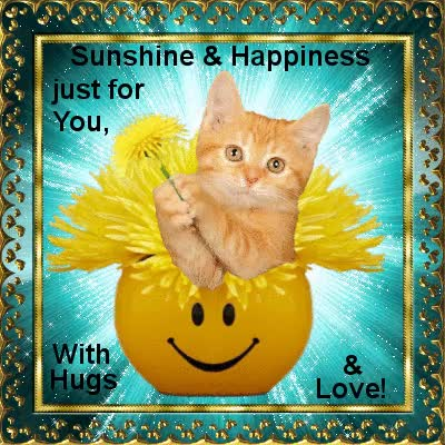 Watch and share Sunshine & Happiness For You! GIFs on Gfycat