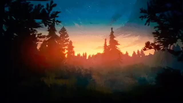 Watch and share Firewatch GIFs by cgsinistro on Gfycat