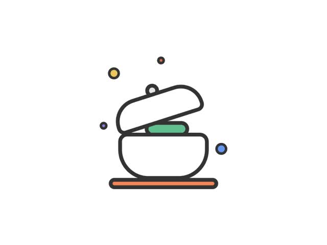 Watch and share Discover Icon - Buffet GIFs on Gfycat