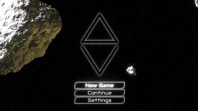 Watch ΔV: Rings of Saturn - Title screen GIF by Kodera Software (@kodera) on Gfycat. Discover more deltav, game, gamedev, indie, indiedev, indiegame, scifi GIFs on Gfycat