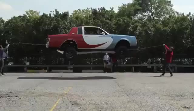 Watch and share Car Jump Rope Lol GIFs on Gfycat