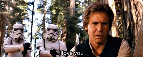 Love, Star Wars, i love you, I Love You GIFs