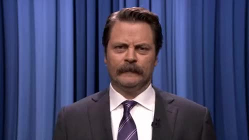 Watch Watching You Nick Offerman GIF on Gfycat. Discover more nick offerman GIFs on Gfycat