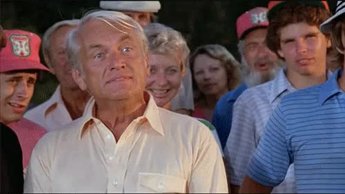 Watch and share Caddyshack GIFs and Ted Knight GIFs on Gfycat