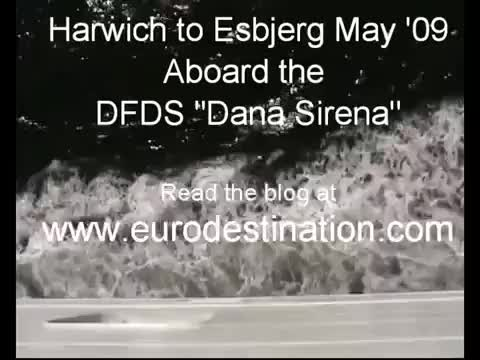 """Watch and share Harwich To Esbjerg On The DFDS """"Dana Sirena"""" May 2009. (reddit) GIFs on Gfycat"""