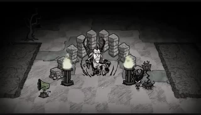 Watch Maxwell Dies GIF on Gfycat. Discover more Don't Starve GIFs on Gfycat