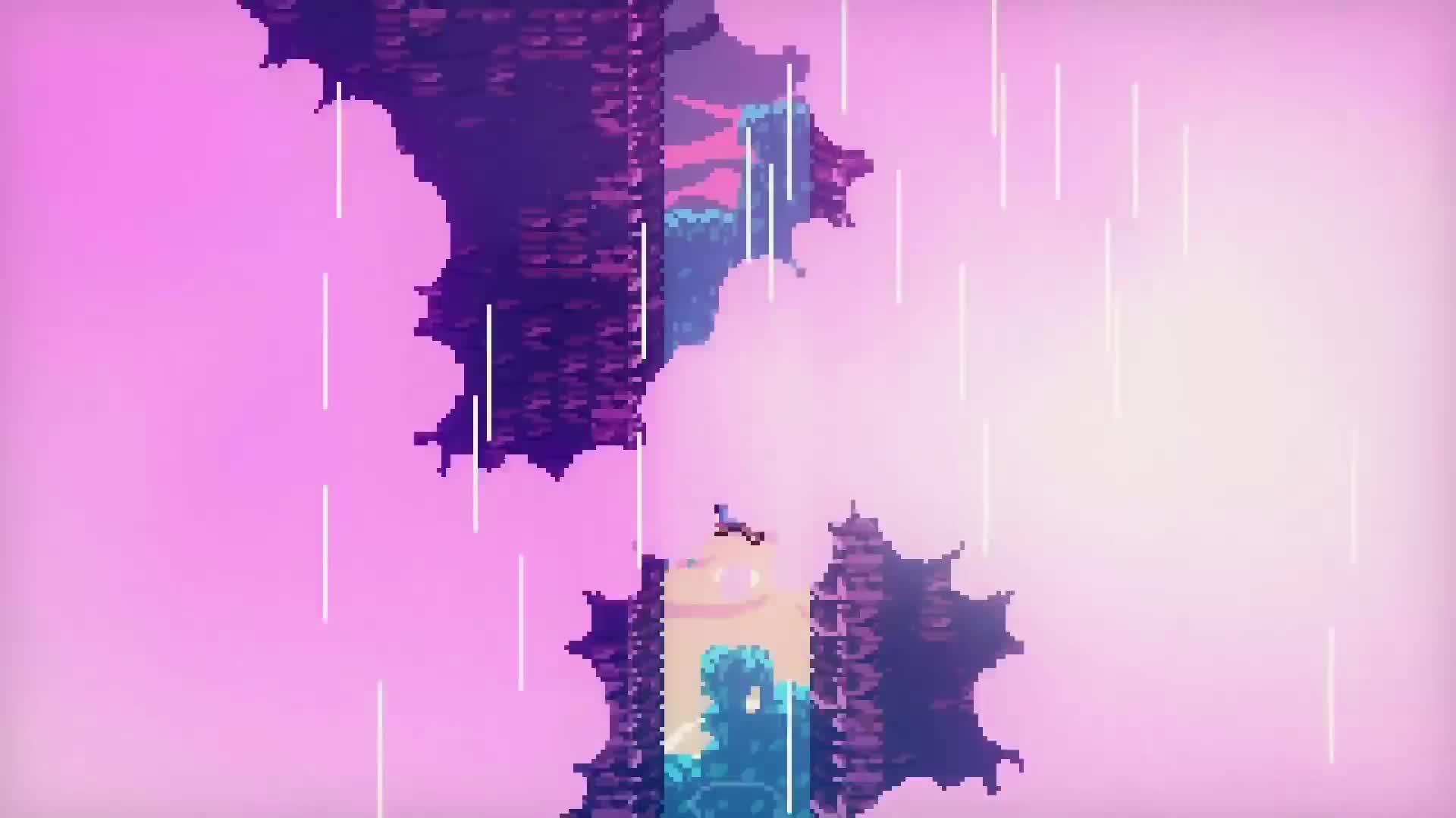 Canada, Celeste, TowerFall, climb, climbing, difficult, hardcore, indie, mountain, platformer, Celeste - Launch Trailer | PS4 GIFs