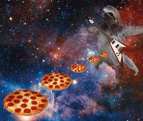 Watch and share Pizza Space GIFs on Gfycat
