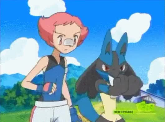 Watch and share Respect Lucario (Pokemon Anime) (reddit) GIFs by rangernumberx on Gfycat