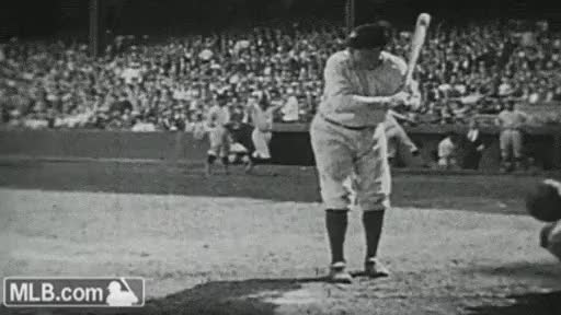 Watch and share Babe Ruth GIFs on Gfycat