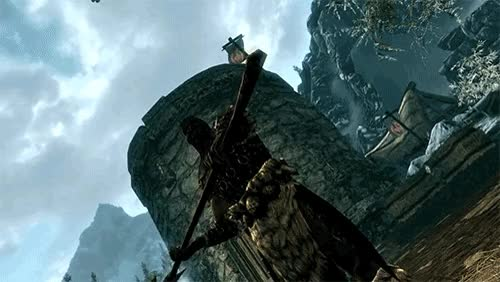 LOL YouTube Skyrim mods toot toot jdh GIF | Find, Make