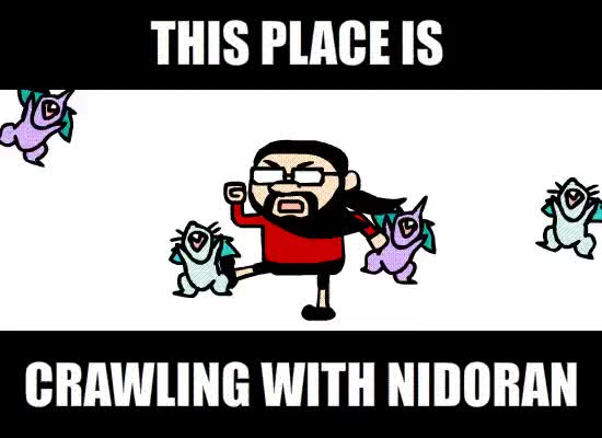 Watch and share Harmontown GIFs and Pokemon GIFs by Nik Scarr on Gfycat