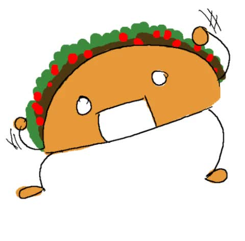 Watch and share Taco animated stickers on Gfycat