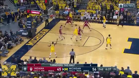 Watch and share Zavier Simpson GIFs and Jordan Poole GIFs by MGoBlog on Gfycat
