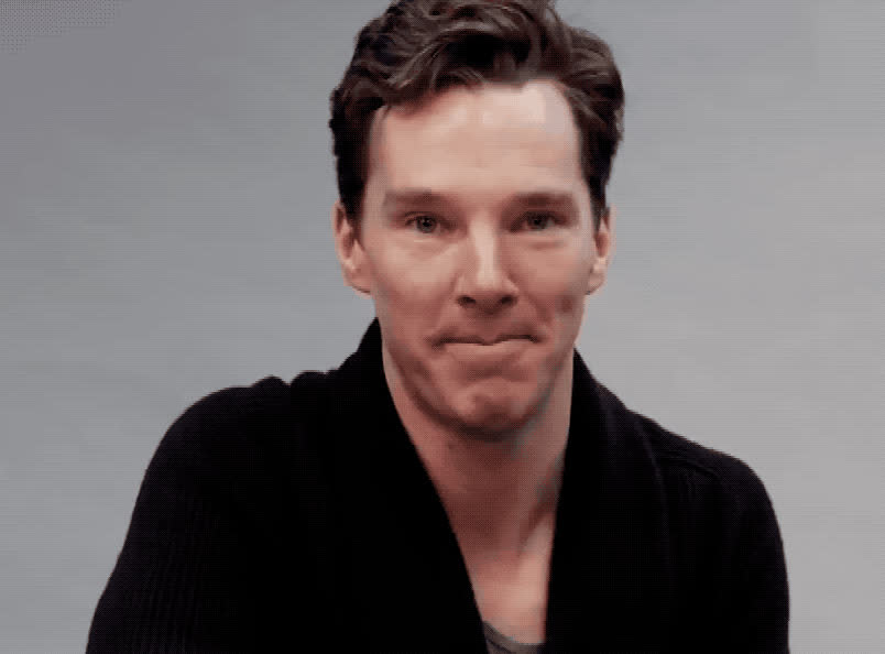 adios, benedict, bye, celebrity, celebs, ciao, cu, cumberbatch, cute, farewell, goodbye, hello, hey, hi, hola, hunk, later, see, you, Bye GIFs